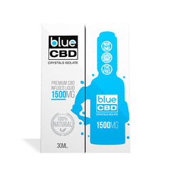 Blue CBD Unflavored Crystals Isolate