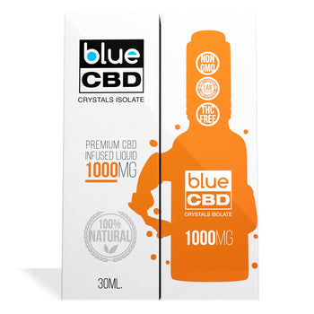 Blue CBD Crystals Isolate 1000MG
