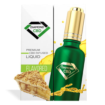 Apple Pie Flavor Diamond CBD Oil