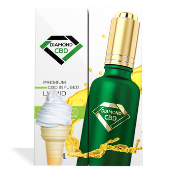 Vanilla Ice Cream Flavor Diamond CBD Oil