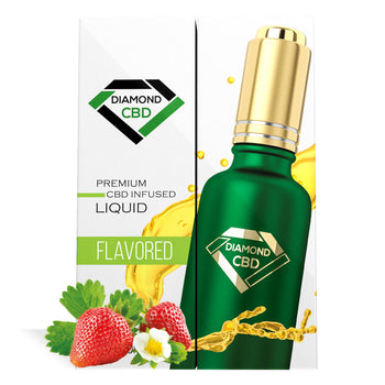 Strawberry Flavor Diamond CBD Oil