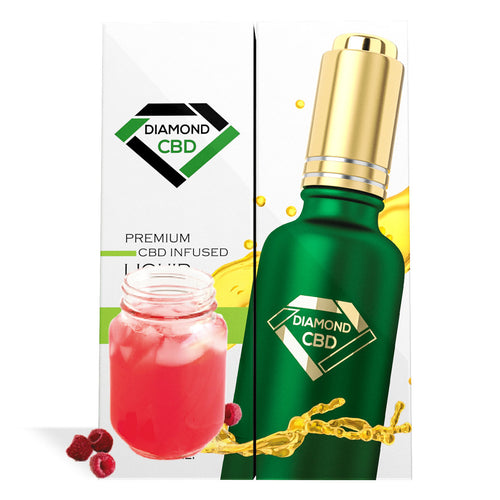 Raspberry Lemonade Flavor Diamond CBD Oil