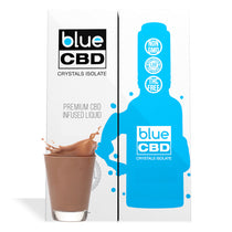 Chocolate Milk Flavor Blue CBD Crystal Isolate