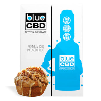 Apple Muffin Flavor Blue CBD Crystal Isolate