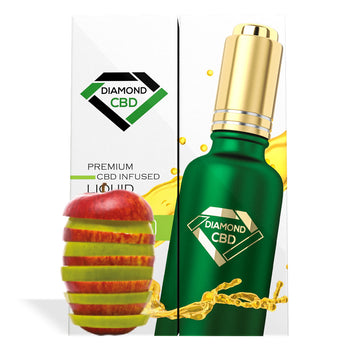 Apple Flavor Diamond CBD Oil