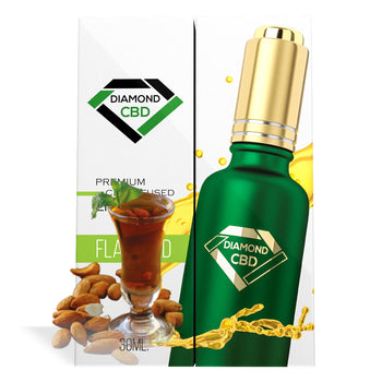 Almond Amaretto Flavor Diamond CBD Oil