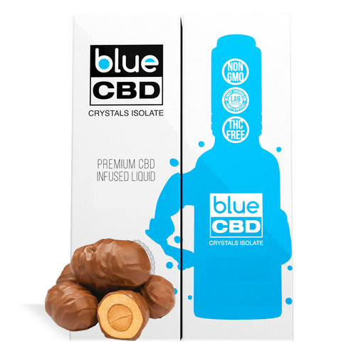 Choco Nuts Flavor Blue CBD Crystal Isolate