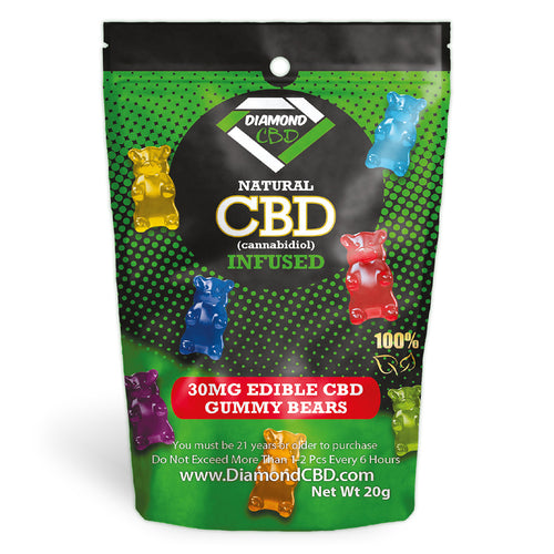 Diamond CBD Infused Watermelon Slices [Edible Candy]
