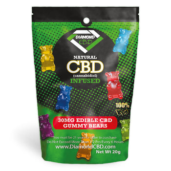 Diamond CBD Infused Gummy Worms [Edible Candy]