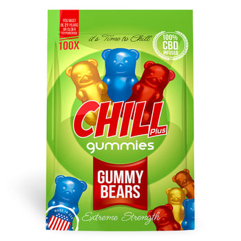 Chill Plus Gummies - CBD Infused Gummy Bears