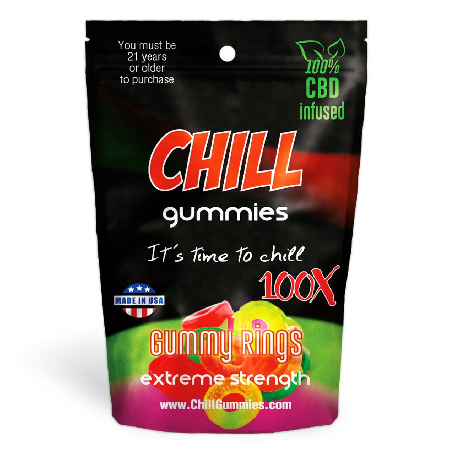 Chill Gummies - CBD Infused Gummy Rings [Edible Candy]