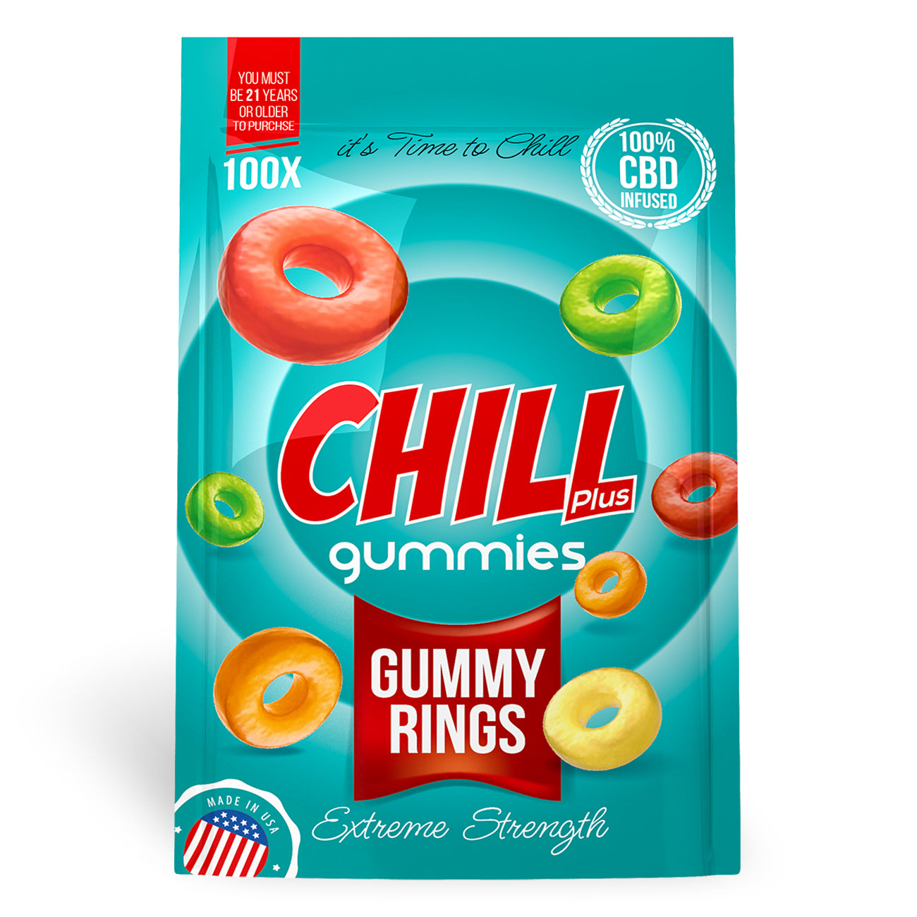 Chill Plus Gummies - CBD Infused Gummy Rings