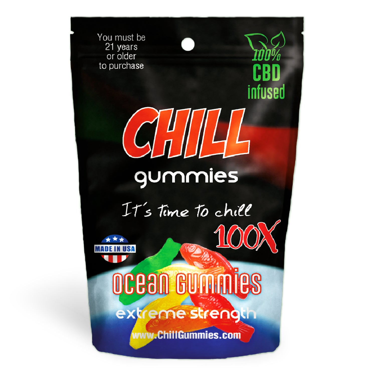 Chill Gummies - CBD Infused Ocean Gummies [Edible Candy]
