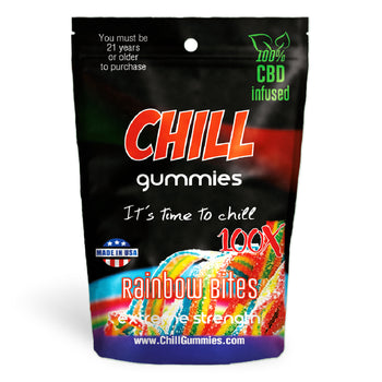 Chill Gummies - CBD Infused Rainbow Bites [Edible Candy]