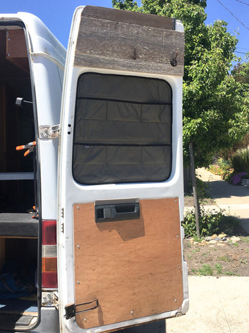 Window Covers: Mercedes Sprinter Van T1N Pre-2007