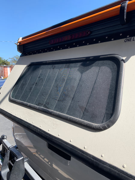 Window Covers: Go Fast Camper