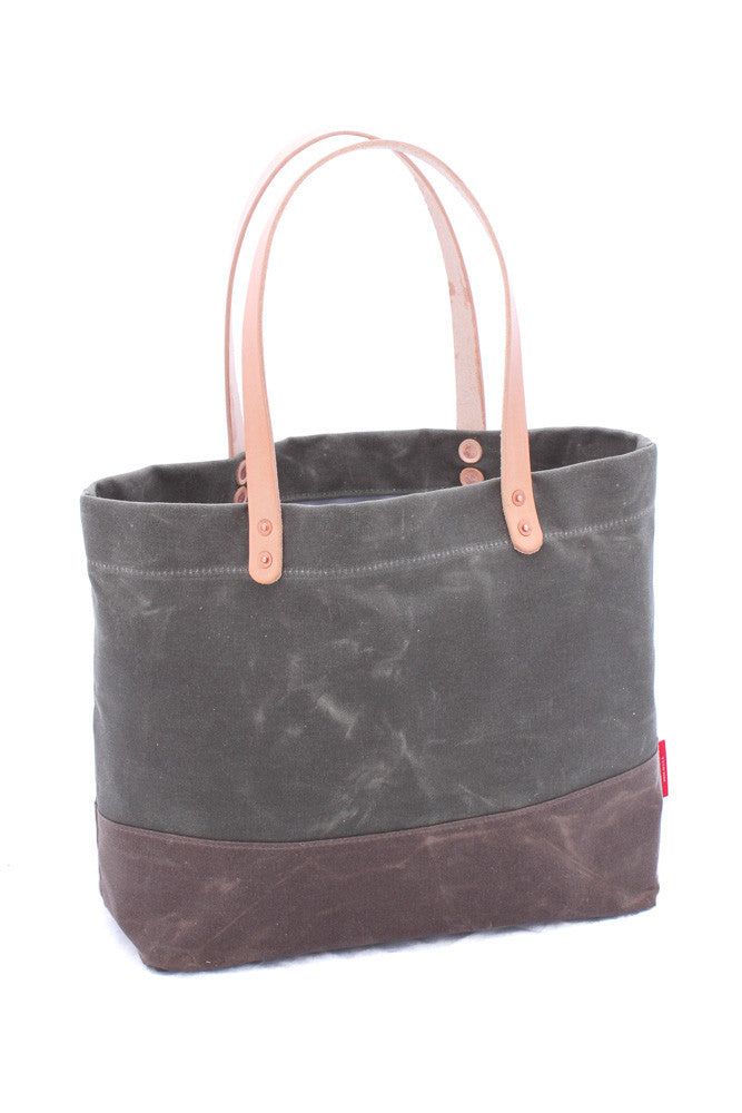 Tote Bag: Waxed Canvas (Original)