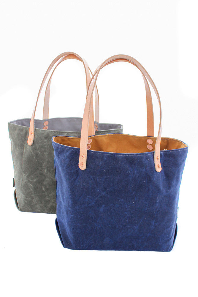 Tote Bag: Waxed Canvas (Medium)