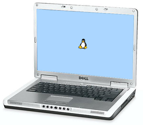 "Dell Inspiron 6000 15.4"" (1.60GHz Pentium M, 2GB, 80GB HDD) Linux"