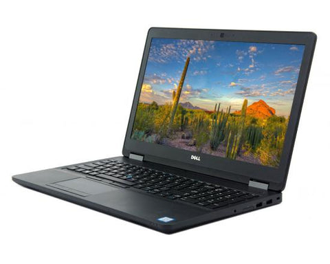 "Dell Latitude E5570 15.6"" (2.60GHz Intel i5-6440HQ, 8GB, 256GB SSD) Linux"