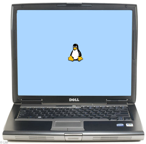 "Dell Latitude D530 15"" (2GHz Core 2 Duo, 4GB ram, 320GB HDD) Linux"