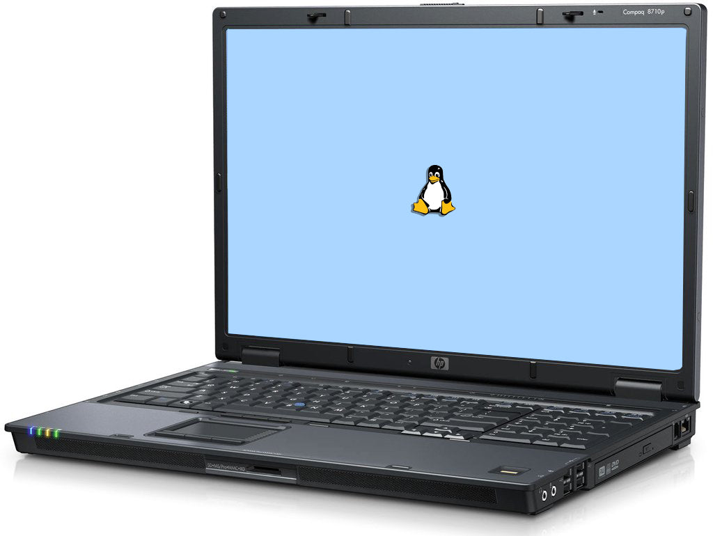 "HP Compaq 8710P 17"" (2.10GHz Core 2 Duo, 4GB, 250GB HDD) Linux"