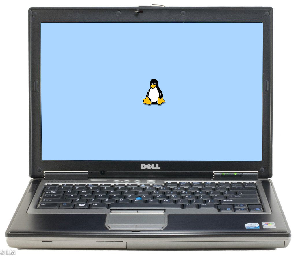 "Dell Latitude D620 14.1"" (1.83GHz Core Duo, 4GB, 80GB HDD) Linux"