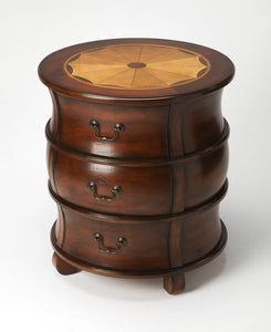 Bentley Plantation Cherry Barrel Table by Butler Specialty Company 0523024