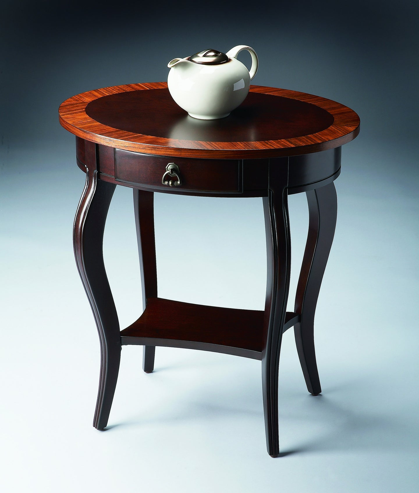 Jeanette Cherry Nouveau Oval Accent Table by Butler Specialty Company 0532211