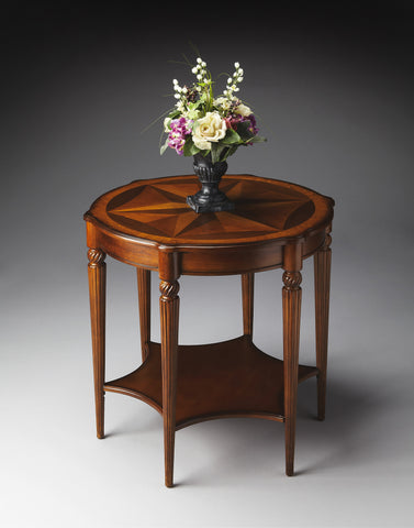 Bainbridge Olive Ash Burl Accent Table by Butler Specialty Company 0557101