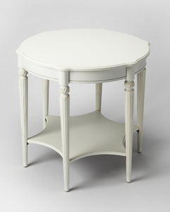 Bainbridge Cottage White Accent Table by Butler Specialty Company 0557222