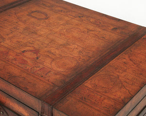 Vasco Old World Map Trunk Table by Butler Specialty Company 0576070