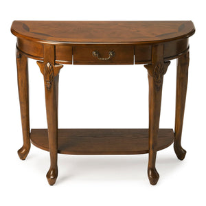 Kimball Vintage Oak Console Table by Butler Specialty Company 0653001
