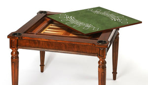 Butler Specialty Company Vincent Antique Cherry Multi-Game Card Table