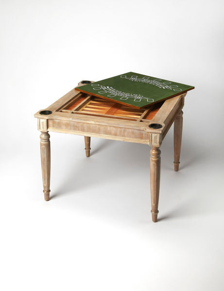 Butler Specialty Company Driftwood Multi Card Game Table