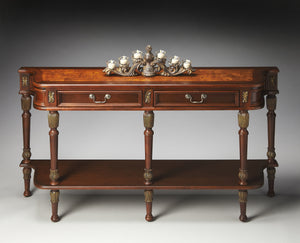 Merrion Plantation Cherry Console Table by Butler Specialty Company 0872030