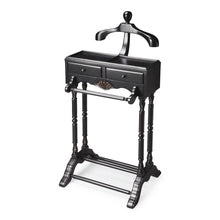 Petrov Black Licorice Clothes Valet Stand by Butler Specialty Company 0900111