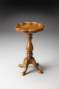 Whitman Olive Ash Burl Scatter Table by Butler Specialty Company 0923101