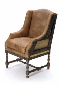 Deconstructed Wing Chair - The Rustic Furniture Store