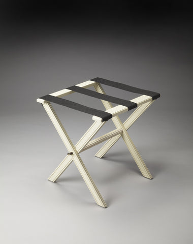 Anthony Cottage White Luggage Rack by Butler Specialty Company 1222222