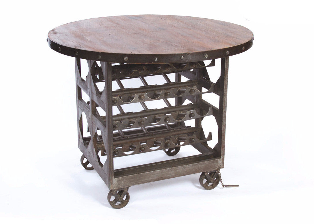 Napa Cellar Table - The Rustic Furniture Store