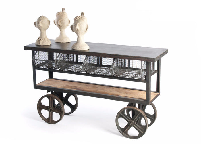Mercato Cart - The Rustic Furniture Store