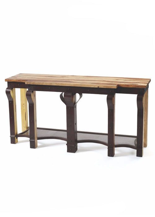 Ribbon Console - The Rustic Furniture Store