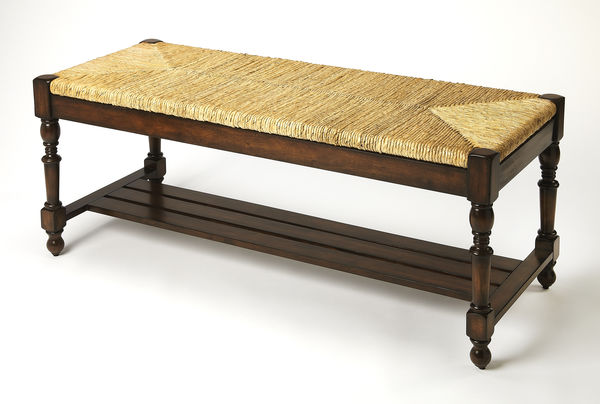 Butler Ravello Woven Wicker Bench