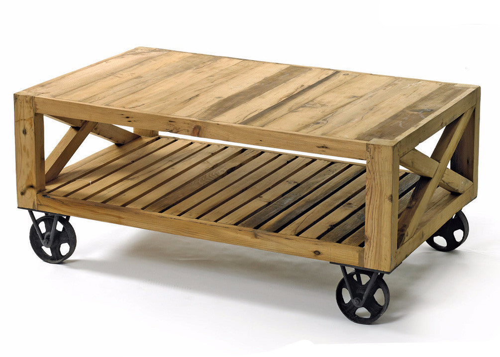 Reclaimed Wood Coffee Table By Go Home Ltd 13182 The