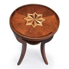 Dalton Olive Ash Burl Round Accent Table by Butler Specialty Company 1328101