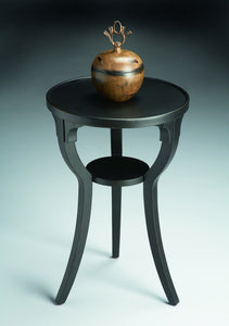 Dalton Black Licorice Round Accent Table by Butler Specialty Company 1328111