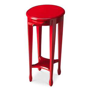 Arielle Red Round Accent Table by Butler Specialty Company 1483293