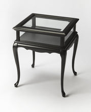 Burton Black Licorice Curio Table by Butler Specialty Company 1484111
