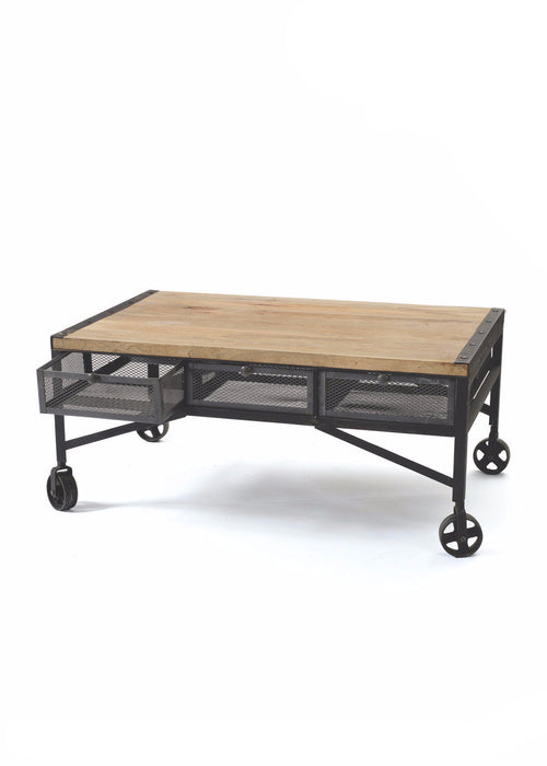 Throwback Coffee Table - The Rustic Furniture Store